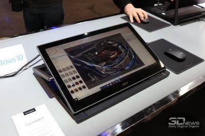Ноутбук со сдвижной клавиатурой, серия компьютеров для дизайнеров и другие новинки Acer