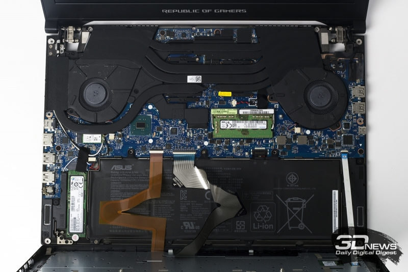 Обзор ASUS ROG Zephyrus S (GX701GX): игровой ноутбук с GeForce RTX 2080 на «диете»