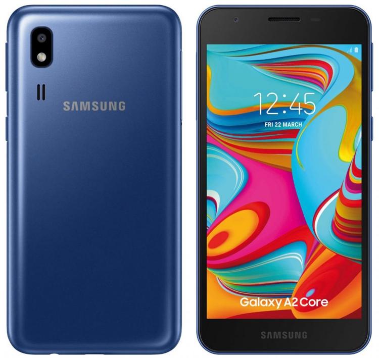 """Всего 75 долларов: представлен бюджетный смартфон Samsung Galaxy A2 Core"""""""