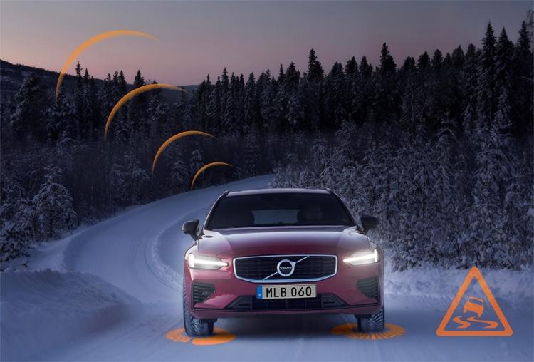 """Автомобили Volvo для Европы начнут общаться друг с другом"""""""