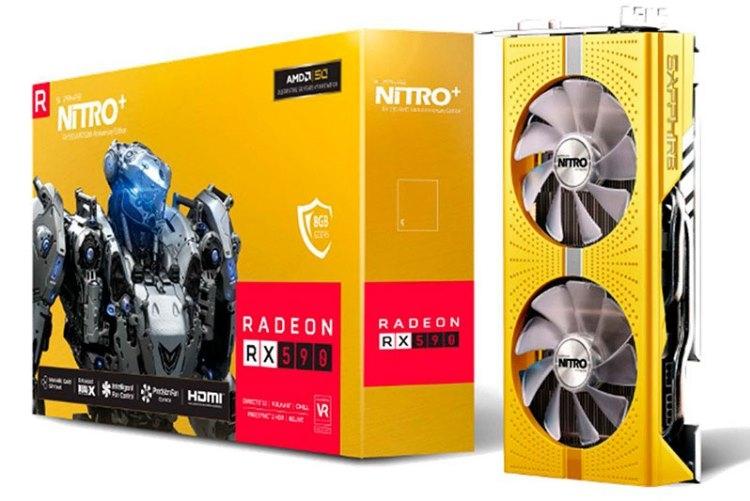 """AMD в честь 50-летия выпустит юбилейные чип Ryzen 7 2700X и видеокарту Radeon RX 590"""""""