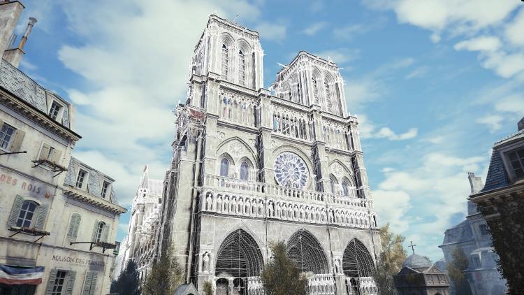 """В реставрации Нотр-Дама помогут игра Assassin's Creed Unity и проведённое лазерное сканирование"""""""