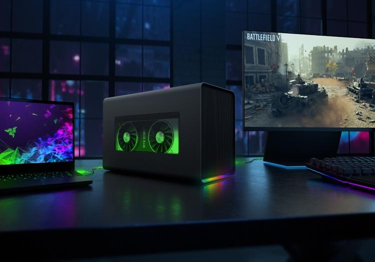 """Razer Core X Chroma: внешний бокс для видеокарты с подсветкой"""""""