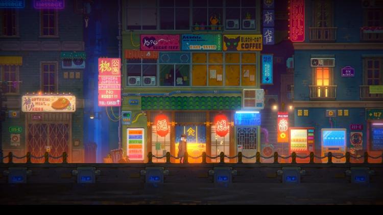 """Видео: детективная история в 14-минутном геймплее киберпанка Tales of the Neon Sea"""""""