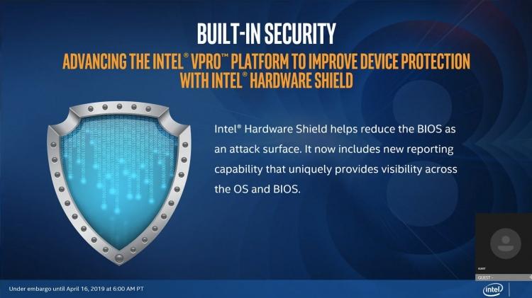 """Intel представила мобильные процессоры Intel Core vPro 8-го поколения"""""""