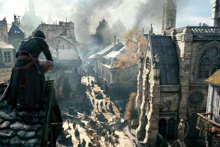 "Ubisoft бесплатно раздаёт Assassin's Creed Unity и пожертвует 500 тысяч евро на реставрацию Нотр-Дама"""
