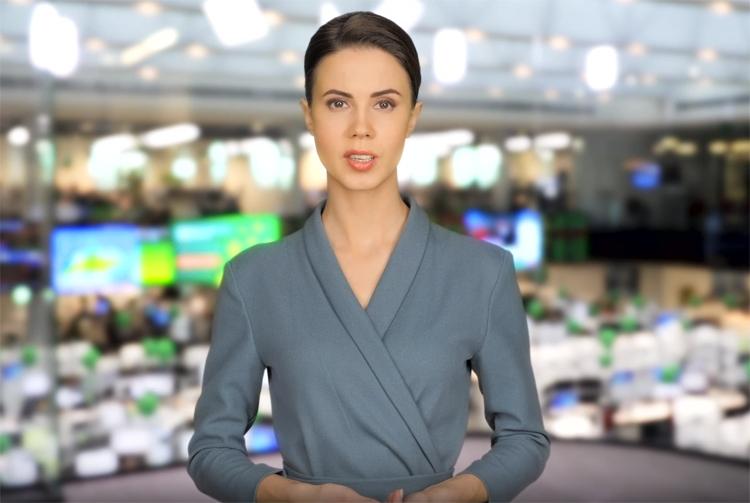 """Почти человек: у «Сбербанка» появилась ИИ-телеведущая Елена"""""""
