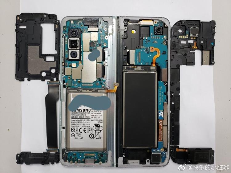 """Гибкий смартфон Samsung Galaxy Fold показал внутренности"""""""