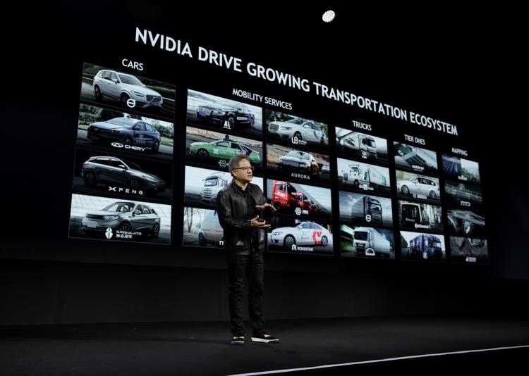 """NVIDIA будет сотрудничать с Тайванем в создании технологий автономного вождения"""""""
