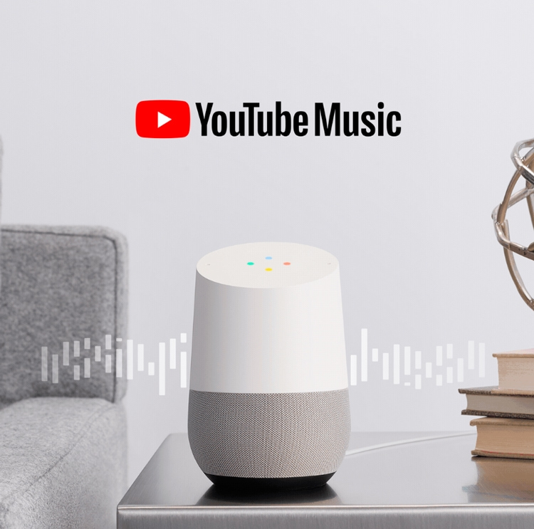 """Пользователи Google Home получили бесплатный доступ к YouTube Music"""""""