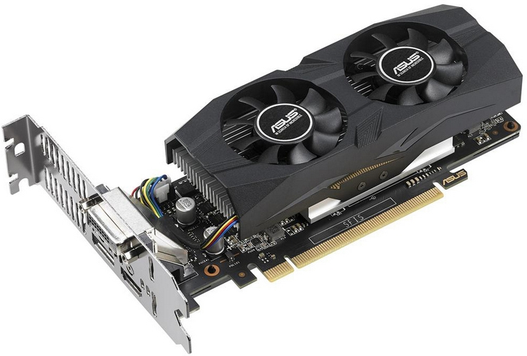 ASUS GeForce GTX 1050 Ti OC LP