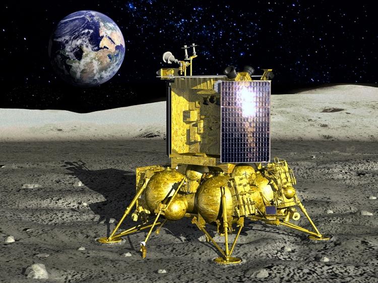 Испытания составных частей станции «Луна-25» пройдут в 2019 году