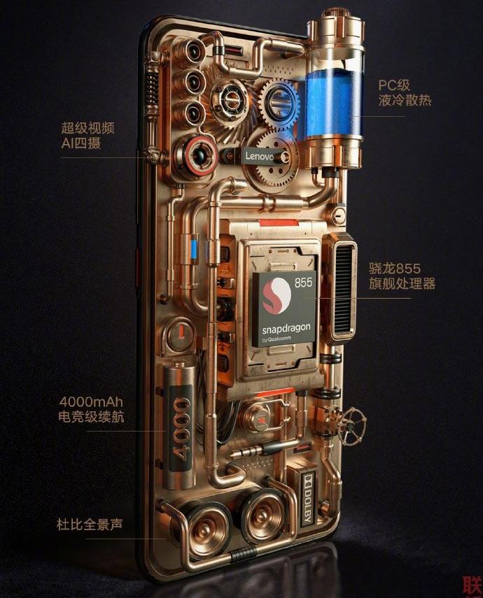 Размещены полные спецификации Lenovo Z6 Pro