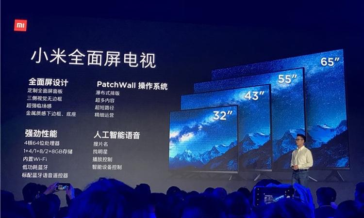 """От 160 долларов: дебют новых телевизоров Xiaomi Mi TV с диагональю до 65"""""""""""