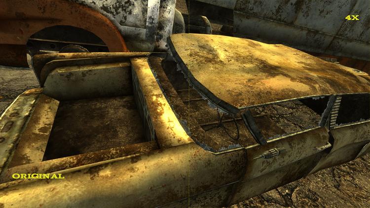 """Фанат улучшил 15 тысяч текстур Fallout: New Vegas и дополнений к ней при помощи нейросетей"""""""