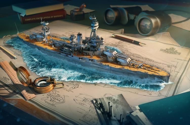 """В World of Warships появились советские корабли, которые существуют лишь на чертежах"""""""