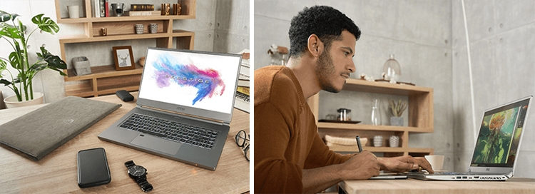 Ноутбуки MSI P65