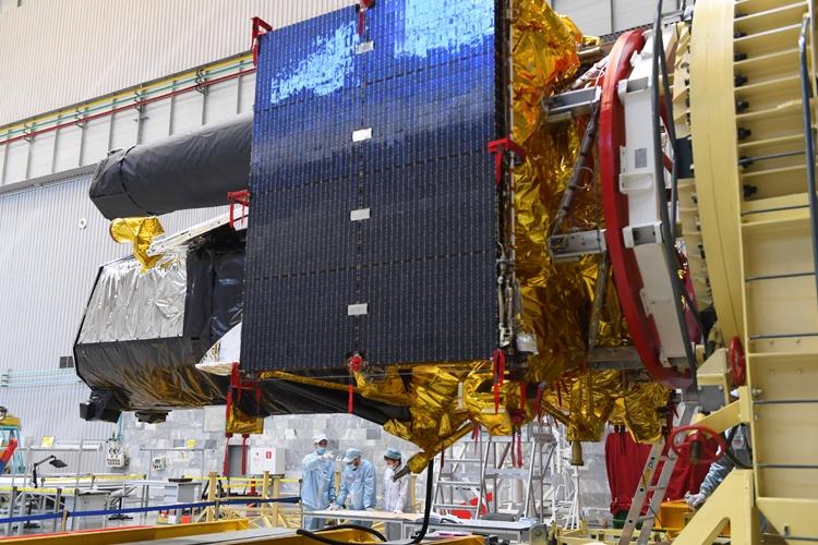 """Обсерватория «Спектр-РГ» отправляется на Байконур для июньского запуска"""""""