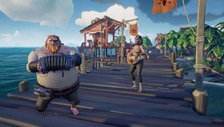 """Видео: путешествия по загадочному острову в сюжетной кампании Sea of Thieves"""""""