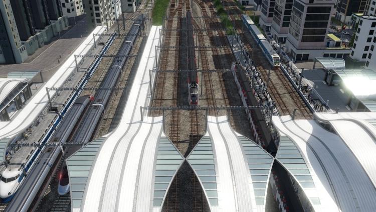 """Видео: 150 лет развития транспорта в симуляторе Transport Fever 2"""""""