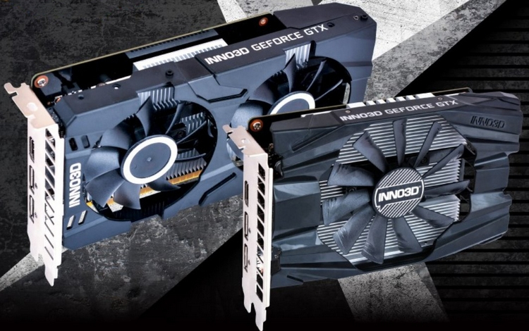 Inno3D представила видеокарты GeForce GTX 1650 Twin X2 OC и GTX 1650 Compact