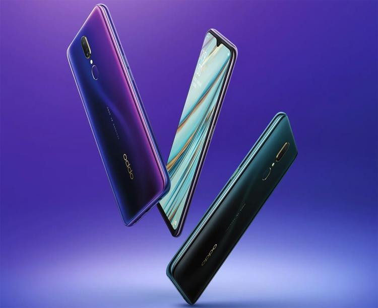 """Экран смартфона OPPO A9 занимает более 90 % площади фронтальной поверхности"""""""