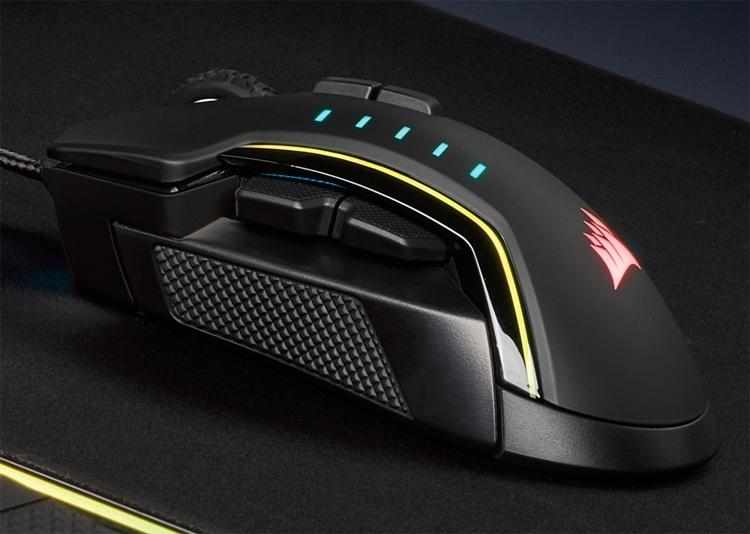 """Мышь Corsair Glaive RGB Pro: комфорт и уверенность в играх"""""""