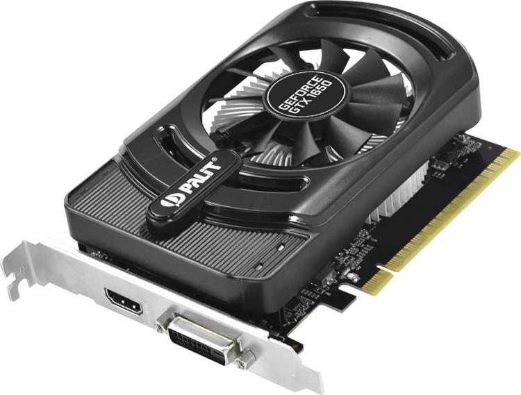 """Частота ядра ускорителя Palit GeForce GTX 1650 StormX OC достигает 1725 МГц"""""""