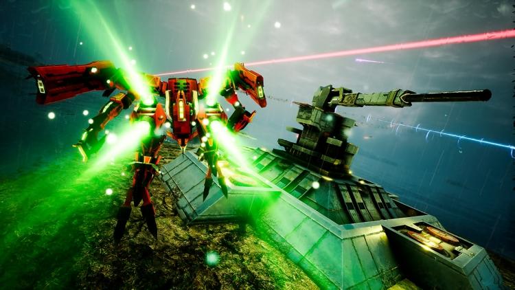 """Меха-экшен Project Nimbus: Code Mirai выйдет на Nintendo Switch 16 мая в полном издании"""""""