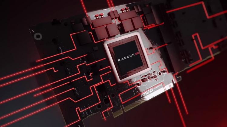 """Просочившееся изображение PCB видеокарты AMD Navi указывает на 256-бит шину и GDDR6"""""""