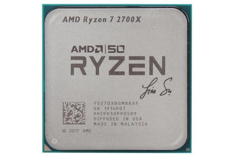 """AMD официально представила юбилейные Ryzen 7 2700X и Radeon VII Gold Edition"""""""