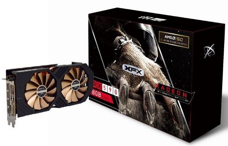 "XFX подготовила видеокарту Radeon RX 590 AMD 50th Anniversary Edition к юбилею AMD"""