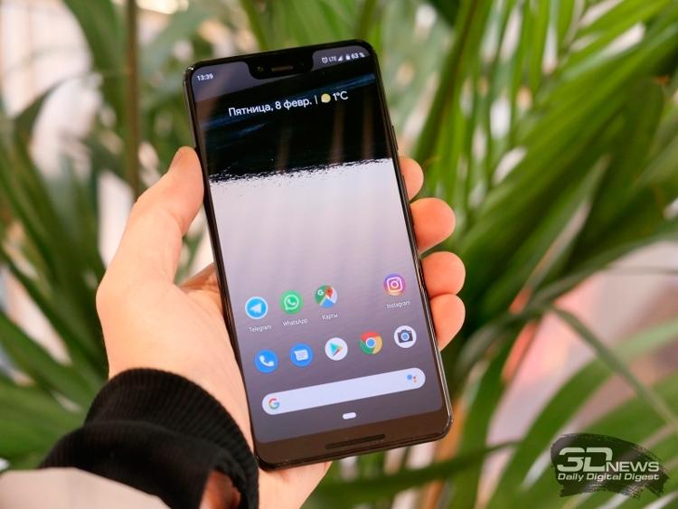 Смартфоны семейства Google Pixel не оправдали надежд по продажам
