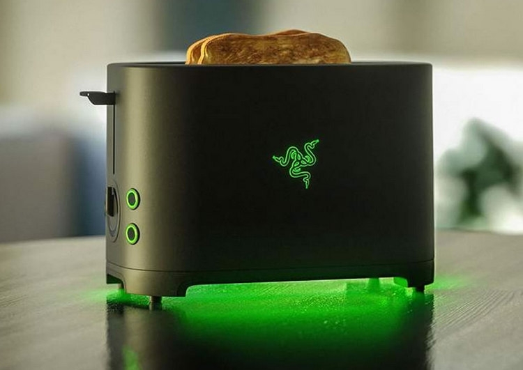 """Когда шутка зашла слишком далеко: тостер Razer Toaster будет создан на самом деле"""""""