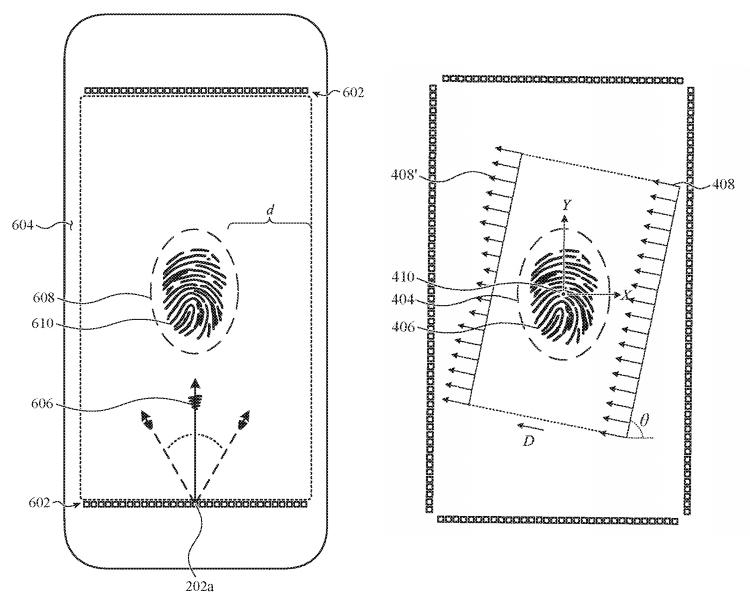 """Будущие iPhone смогут использовать для сканирования отпечатков пальцев весь экран"""""""