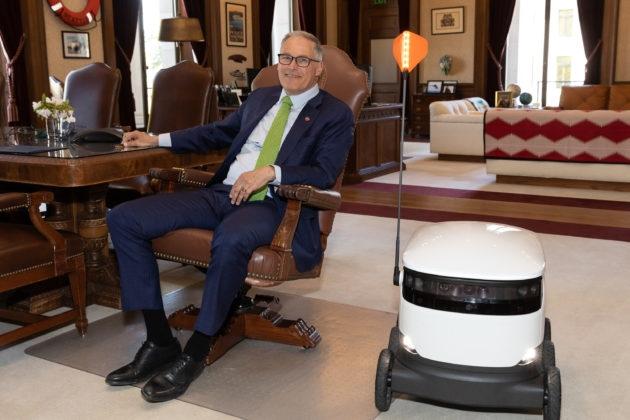 В Вашингтоне разрешили доставку грузов с помощью роботов