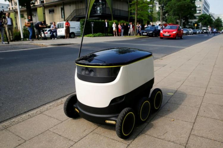 """В Вашингтоне разрешили доставку грузов с помощью роботов"""""""