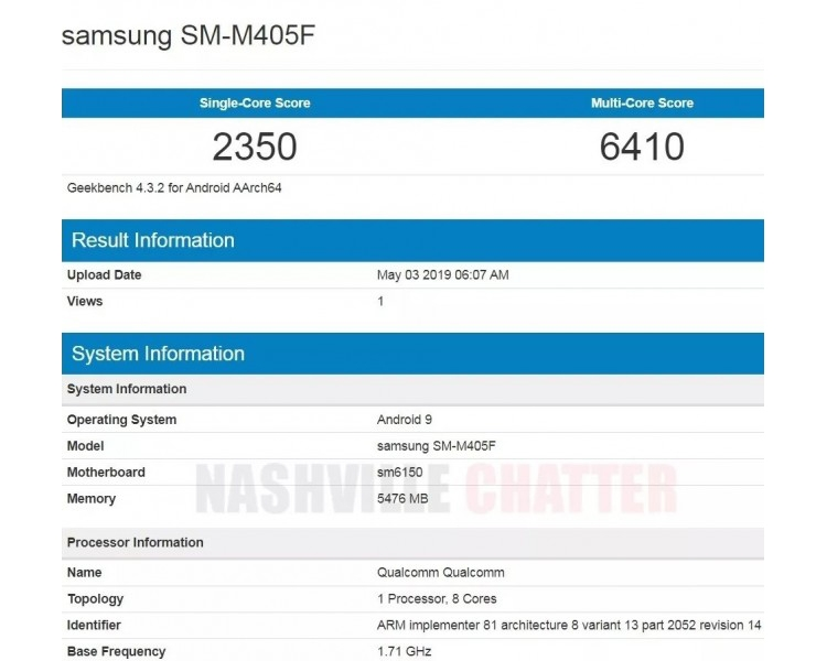 "Samsung оборудует смартфон Galaxy M40 чипом Snapdragon и 128 Гбайт памяти"""