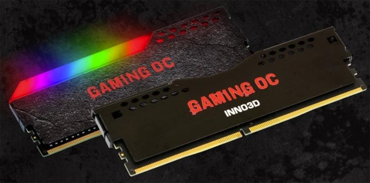 """Inno3D Gaming OC: модули памяти DDR4 с эффектной подсветкой"""""""