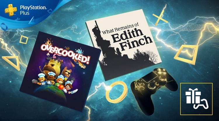 PlayStation Plus в мае: What Remains of Edith Finch и Overcooked!""