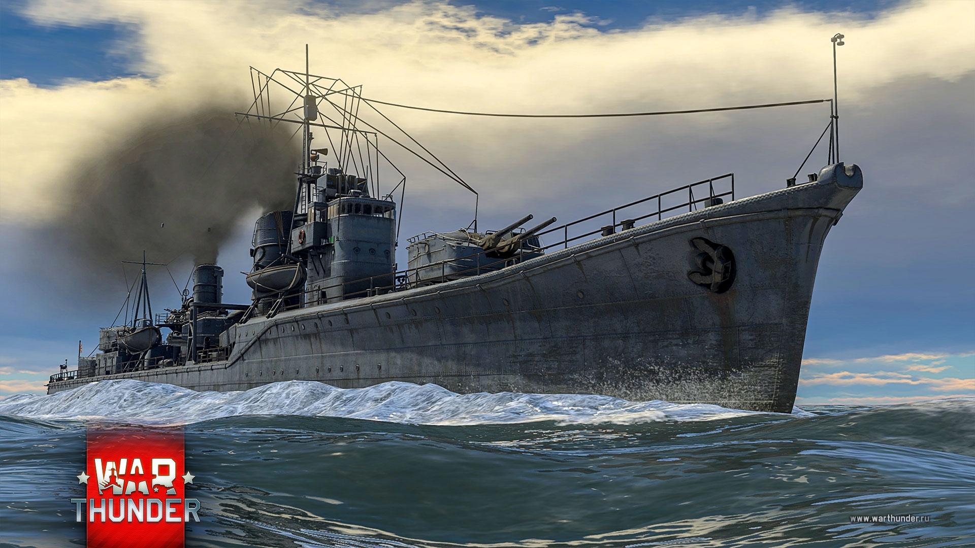 корабли в war thunder обзор