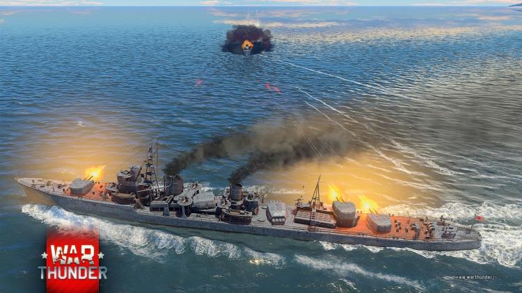 """В War Thunder идёт японский флот вместе с новым классом кораблей"""""""