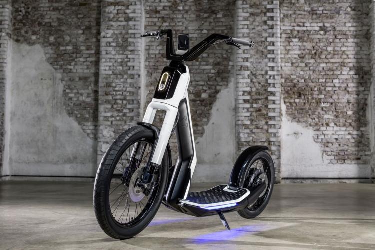"""Volkswagen выпустит вместе с NIU свой первый электрический скутер"""""""
