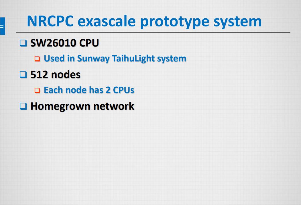 Только в суперкомпьютере от NRCPC не планируется использование каких-либо ускорителей