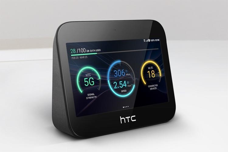 Вместо новых смартфонов на выставку MWC 2019 компания HTC привезла устройство 5G Hub