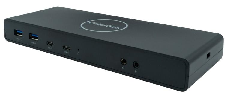 """Док-станция VisionTek VT4500 допускает подключение двух 4К-мониторов"""""""