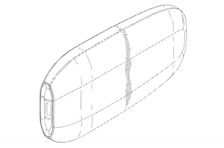 """В Samsung запатентованы различные варианты карманного SSD-накопителя"""""""