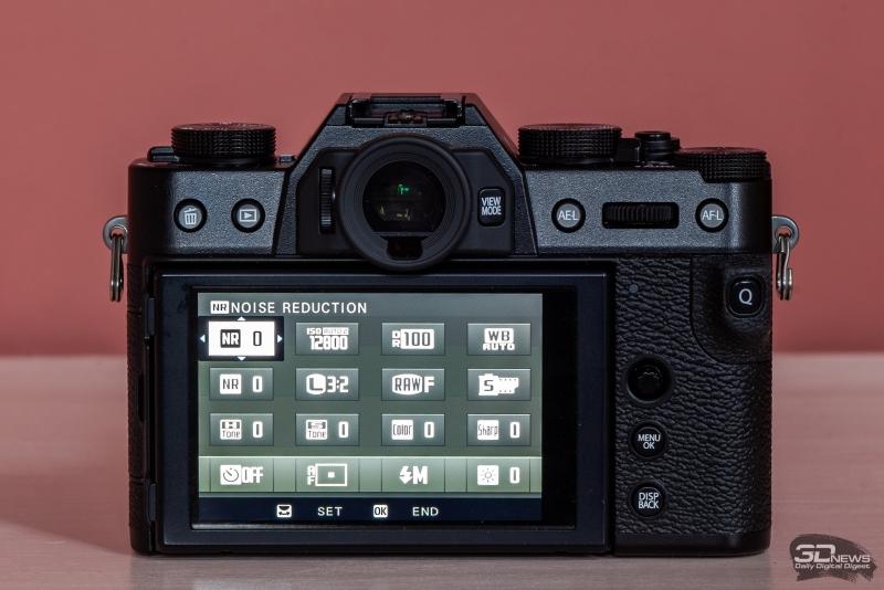 Организация быстрого меню на Fujifilm X-T30