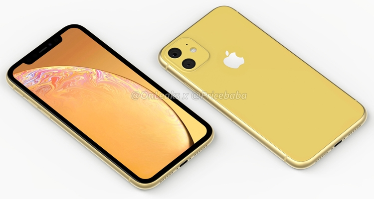 """Концепт-рендеры и видео смартфона iPhone XR 2019"""""""