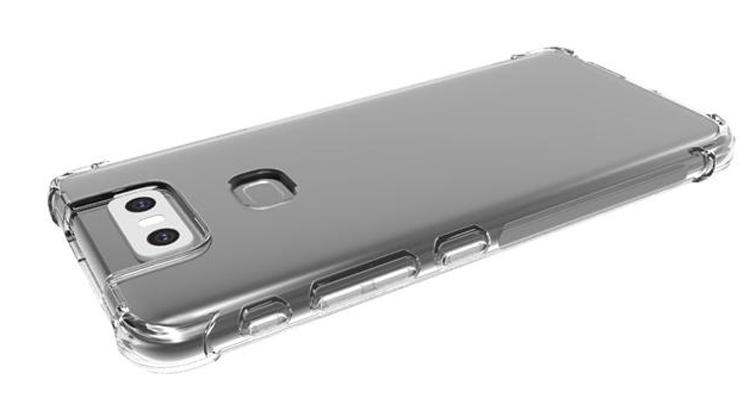 """Рендеры чехла говорят о крупном вырезе в дисплее смартфона ASUS Zenfone 6"""""""